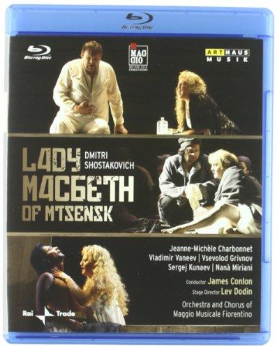 Lady Macbeth De Distrito de Mtsensk - Shostakóvich - Blu Ray