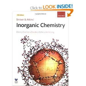Shriver and Atkins' Inorganic Chemistry  - Peter Atkins