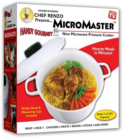 Micromaster Pressure Cooker As Seen On Tv [12 Pieces] *** Product Description: Tender, Delicious Meals In Less Time! Now You Can Enjoy The Benefits Of A Pressure Cooker With The Even Faster Cooking Time Of A Microwave. This As Seen On Tv Micromas ***