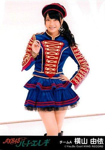 AKB48 公式生写真 ハート・エレキ 劇場盤 ハート・エレキ Ver. 【横山由依】