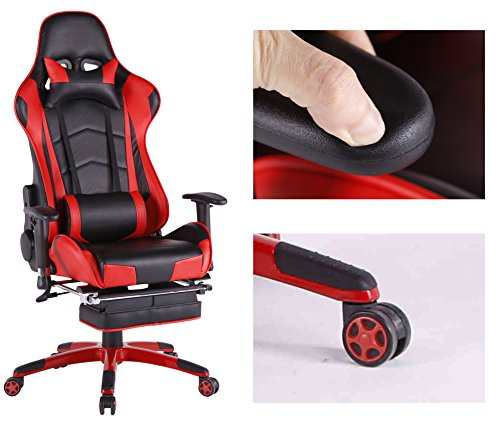 Top Gamer Ergonomic Gaming Chair High back Swivel Computer Office