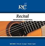 Royal Classics RL50 Recital Nylon Guitar Strings, Medium Tension