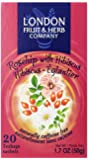 London Fruit & Herb Company Tea, Rosehip with Hibiscus, 20 Count