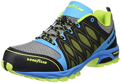GoodyearGYSHU1503 - Scarpe da tennis di sicurezza uomo , Multicolore (Multicolore (Multi)), 42