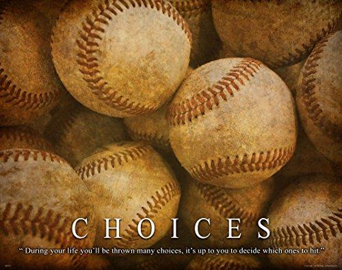 Baseball Motivational Poster