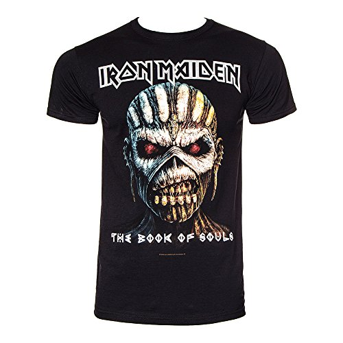 Iron Maiden The Book Of Souls T-Shirt nero L