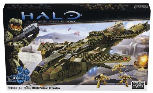 Mega Bloks Halo UNSC Pelican Dropship Buildable Playset