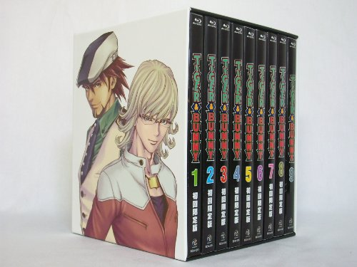 TIGER&BUNNY(タイガー&バニー) 初回限定版 Blu-ray ブルーレイ全9巻セット