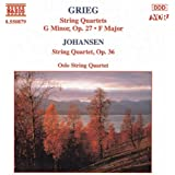 Grieg: String Quartets Nos. 1 And 2 / Johansen: String Quartet Op. 35