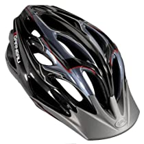 Louis Garneau Orbit Mountain Helmet - BLACK/GREY, SMALL/MEDIUM 20.5-22.5""