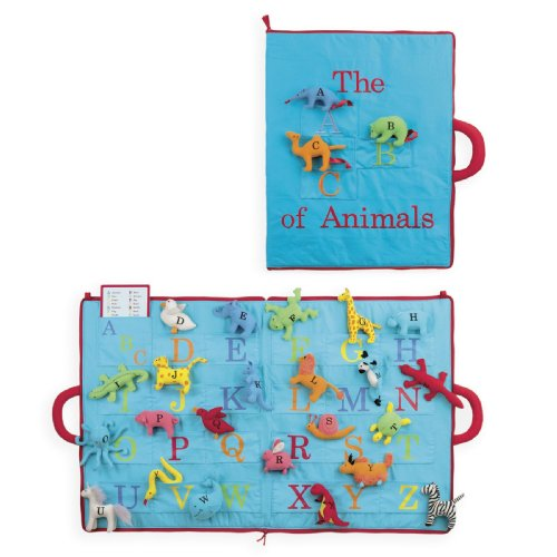 North American Bear Company The ABC of Animals Activity Book - 1