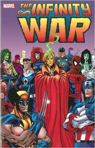 Infinity War written by Jim Starlin