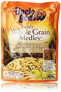 Uncle Ben's Whole Grain Brown & Wild Rice, 8.5 Oz