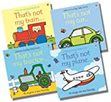 Fiona Watt Usborne That's Not My...Vehicle Collection - 4 Books RRP £23.96 (That's not my car; That's not my plane; That's not my tractor; That's not my train)