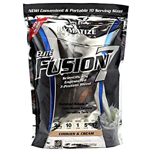 Dymatize Elite Fusion 7 Cookies and Cream -- 0.97 lbs