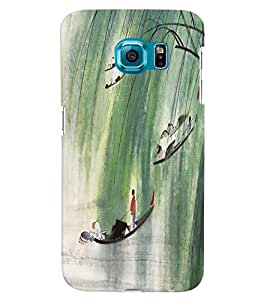 GADGET LOOKS PRINTED BACK COVER FOR Samsung Galaxy S6 MULTICOLOR