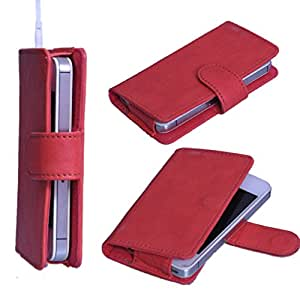 StylE ViSioN Pu Leather Pouch for Gionee Marathon M3