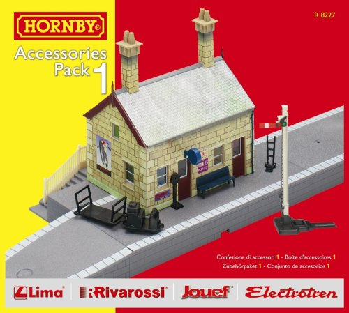 Hornby R8227 00 Gauge Building Ext Pack A Trakmat Packs and Accessory