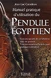 Manuel pratique d'utilisat. pendule égyptien