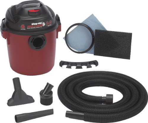 Shop-Vac 58503 Bulldog 2 Hp Wet/Dry Vacuum - 4 Gallon Capacity front-25430