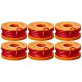 WORX WA0010 Replacement 10-Foot Grass Trimmer/Edger Spool Line 6-Pack for WG150, WG151, WG152, WG155, WG165, WG166, WG160, WG167, WG175