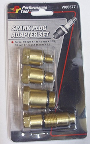 Performance Tool W80577 Compression Tester Spark Plug (Spark Plug Compression Tester compare prices)