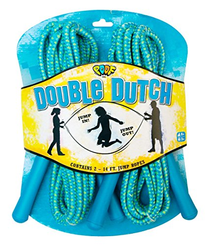 POOF Hot Ropes 2-Pack Double Dutch Jump Ropes (Kids Jump Ropes compare prices)
