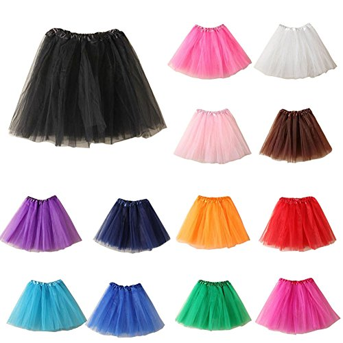 MIOIM Ladies Girls Women Adult Tutu Skirts Pettiskirt Mini Fancy Dress Party
