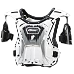 2013 Thor Child's Quadrant Protector WHITE/BLACK