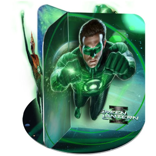 Green Lantern Centerpiece Party Accessory