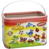 Hama Beads 10,000 Beads in a Bucket - Pastel Mixby Hama
