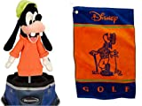 Disney World Parks Exclusive Goofy Plush Golf Head Cover & Towel 2 Pc. Set - NEW