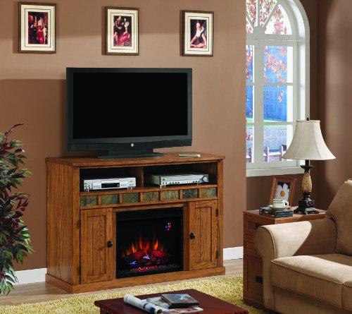 Classic Flame Sedona Fireplace In Classic Oak