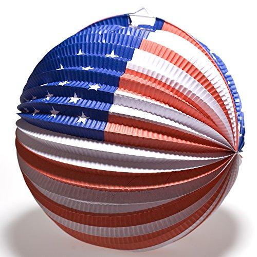Patriotic Balloon Lanterns