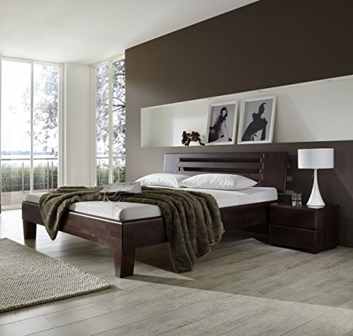bett wenge 180. Black Bedroom Furniture Sets. Home Design Ideas