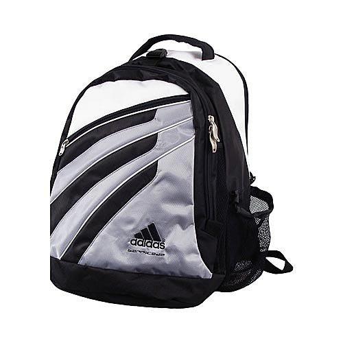 de0918d16c8f Adidas Barricade Tour Tennis Backpack Tennis Bag - Silver 207611