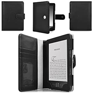CaseCrown Regal Flip Case (Black) for the Amazon Kindle 4th Generation