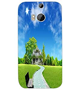HTC ONE M8 HOUSE Back Cover by PRINTSWAG