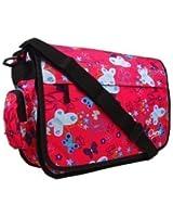 New Girls Womens Chervi Butterfly School College Laptop Satchel Messenger Bag
