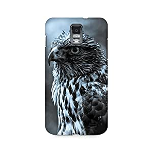 Mobicture Eagle Dark Premium Printed Case For Samsung S2 I9100/9108