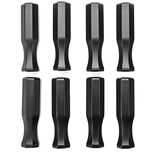 Review Of Brybelly Octagonal Handles for Standard Foosball Tables (8 Pack)