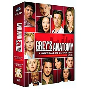Grey's Anatomy 4 - 5 Discs [Import belge]