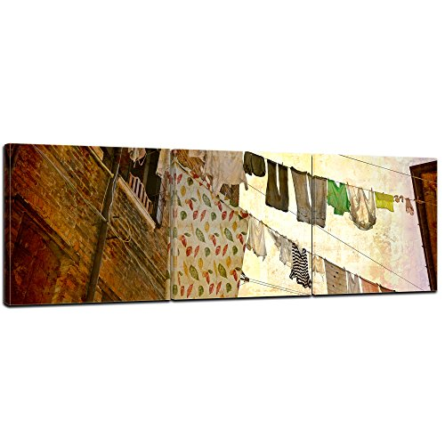 bilderdepot24-wall-art-canvas-picture-panorama-venice-grunge-4-3543-inch-x-1181-inch-3-pieces-galler