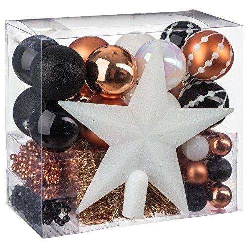 Weihnachtsdekorations set 44 dekorationsartikel f r den for Dekorationsartikel hochzeit