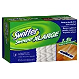 Swiffer Sweeper X-Large Disposable Sweeping Cloths, 16-Count Boxes (Pack of 3)