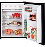 GE GMR06AAZBB 5.7 cu. ft. Compact Refrigerator, Interior Lighting: Black
