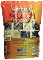 Western 28070 Peach Smoking Chips 2 Pound Bag by WW Wood inc