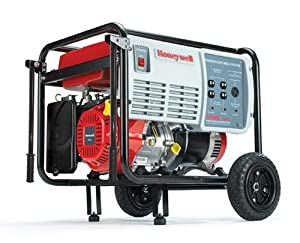 Honeywell HW5500 6,875 Watt 11 HP 337cc OHV Portable Gas Powered Home Generator (Discontinued by Manufacturer)