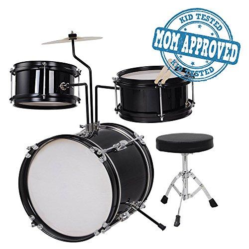 koval-inc-kids-drum-set-3-piece-junior-drum-set-kit-black