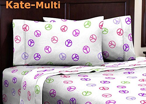 Purple And Green Bedding 1791 front